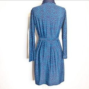Jude Connally Dresses - Jude Connally belted collared shirt dress
